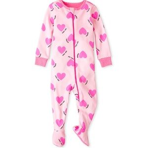 Baby girls sleeper pajama size 6-9 months